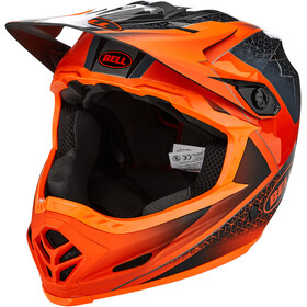 Bell Full-9 Casque, matte/gloss slate/dark gray/orange